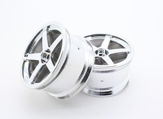 Toxique Nitro - Rear Wheel Chromé