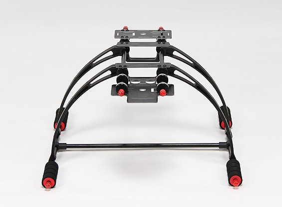 Haute Crab Deluxe multifonction Anti-Brake Care-gratuit FPV Landing Gear Set (Black)