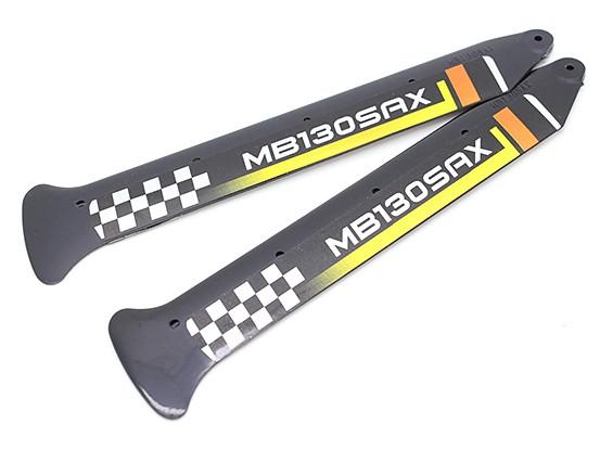 3D principal Lames pour Blade 130X (2pc) avec Winglet