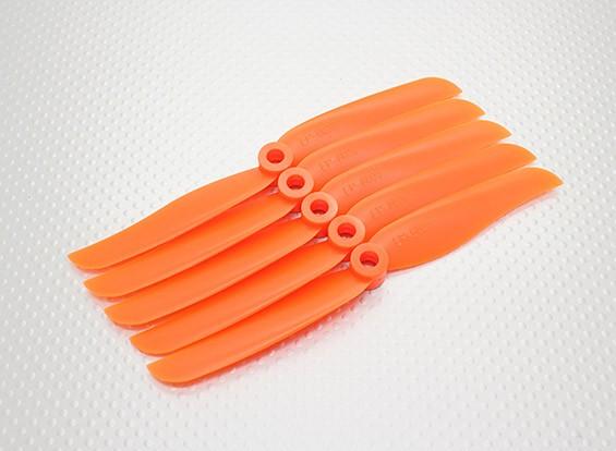 HobbyKing ™ Hélice 6x3.5 orange (CCW) (5pcs)