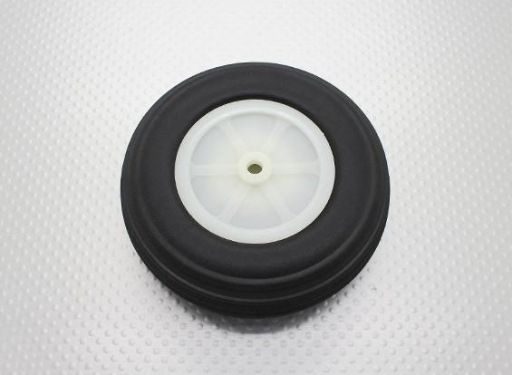"""3.75 """"Ultra PU caoutchouc léger Echelle roue /95.3mm"""