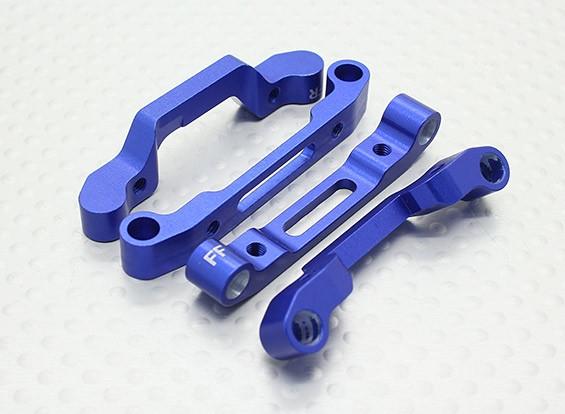 Alu. Support de suspension (avec billes en acier Nut et entretoise ensemble plastique) - Drift Car