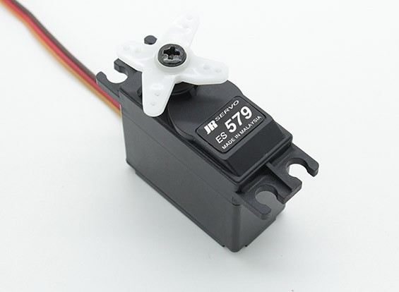 JR ES579 High Torque servo standard analogique avec Metal Gears 8,3 kg / 0.23sec / 48g