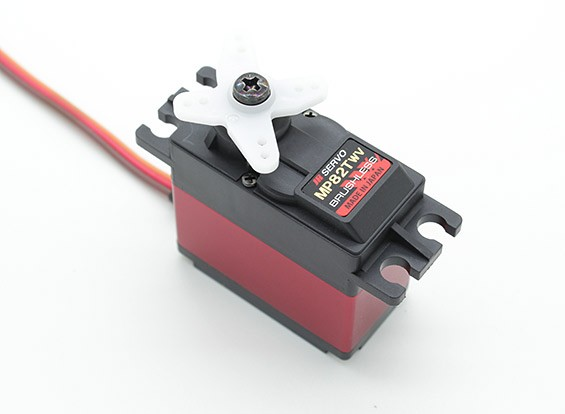 JR MP82TWV large Tension Ultra High Torque Brushless Servo avec Métal Gears et Dissipateur