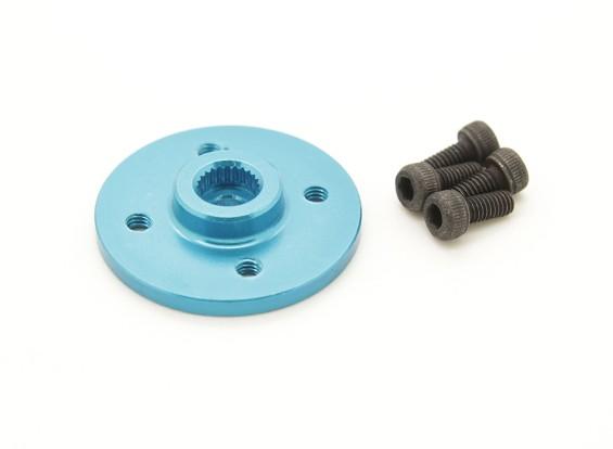 Super Heavy Duty CNC Métal Servo Disk - Hitec (Bleu)