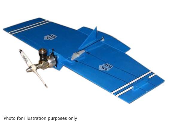 Modèles de Black Hawk Lil '(Com) contrôle Bat ligne Balsa 457mm (Kit)