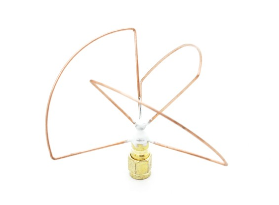 2.4GHz à polarisation circulaire antenne SMA émetteur seulement (Short)