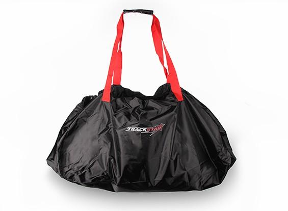 TrackStar échelle 1 / 8ème voiture Carry Bag (Rouge / Noir)