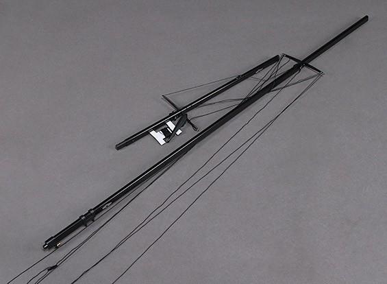 Fiberglass RC Yacht Voilier Monsoon- Mast Set
