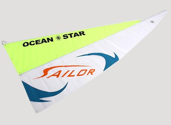 Ocean RC Going Racing Yacht 2.2m - Sail Set (2pcs)