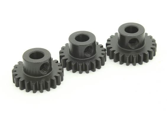 Hardened Steel Pinion Gear Set 32P Ajuster Shaft 5mm (20/21 / 22T)