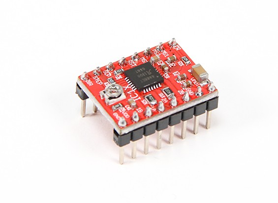 2A Micro-Stepping Stepper Motor Pilote A4988 (Pololu Compatible)