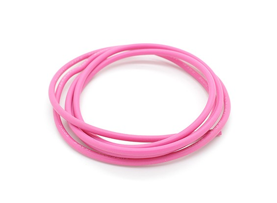 Turnigy Pure-silicone Fil 16AWG 1m (Rose)