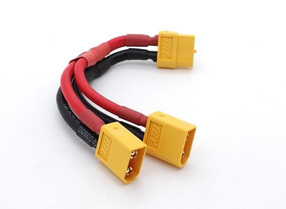 XT60 Harnais pour 2 Packs en parallèle 12AWG Fil (1pc)