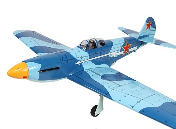 Yak-9 soviétique Fighter Balsa GP / EP 1520mm (ARF)