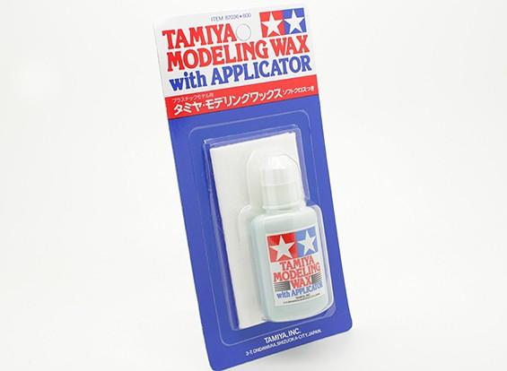 Tamiya Modeling Wax avec Applicateur