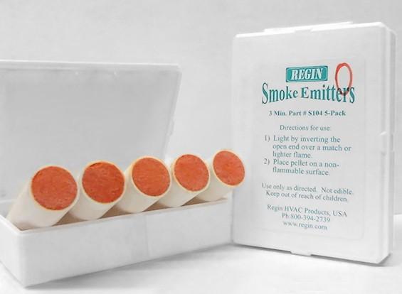 3 Minute orange cartouches de fumée (5pcs)