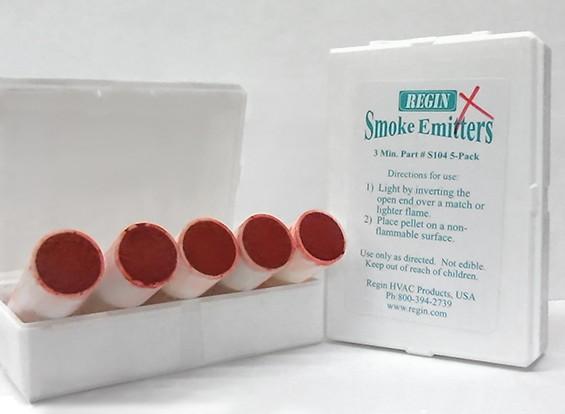 Cartouches 3 Minute de fumée rouge (5pcs)