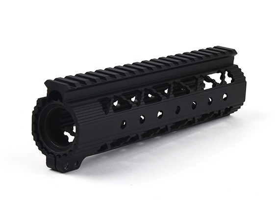 Dytac Invader Lite 7.6 pouces Rail System (Noir)