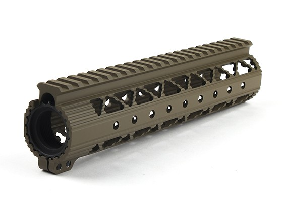 Dytac Invader Lite 9 Rail System Inch (Dark Earth)