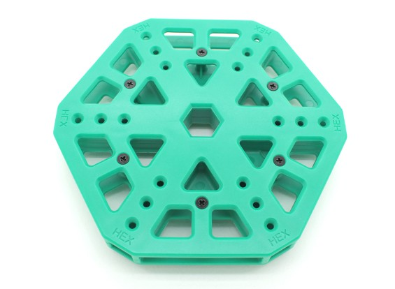 RotorBits HexCopter Centre de montage (Vert)