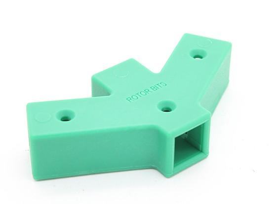 RotorBits 60 degrés Y connecteur 2 côtés (vert)