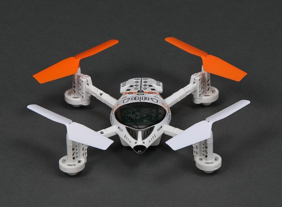Walkera QR W100S Wi-Fi FPV Micro Quad-Copter IOS et Android Compatible (Mode 2) (Ready to Fly)