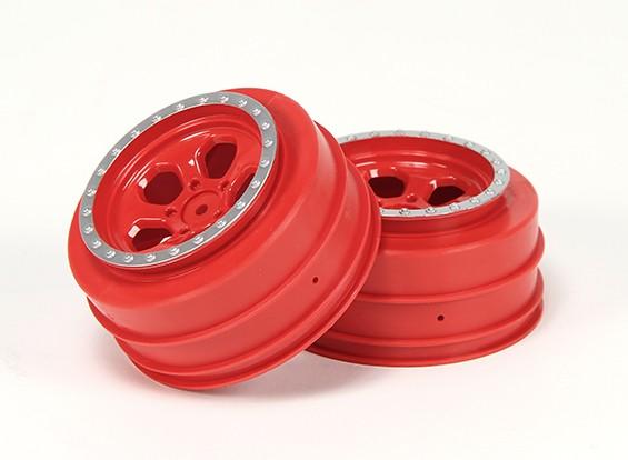 Wheel Set (2) - Basher Nitro Circus1 / 10 SCT