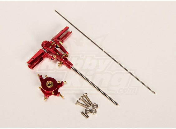 Walkera 4G3 CNC rotor métallique de mise à niveau w / Balance Bar (Walkera partie # RCX04-001)