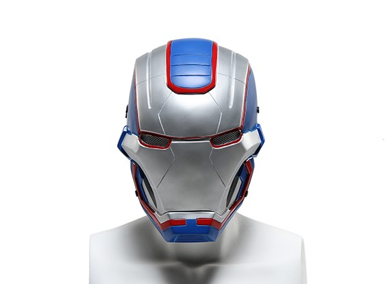 FMA Wire Mesh masque complet (Ironmask3 Bleu)