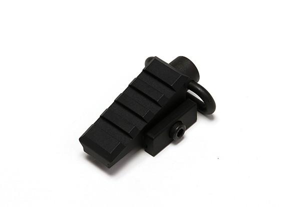 Element EX261 Pyramid coudé rail adaptateur (noir)