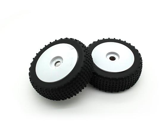 1/8 Echelle Pro Dish Roues avec pneus (2pc)