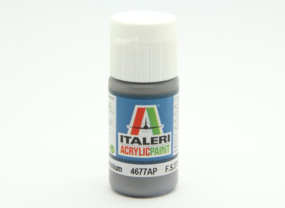 Italeri Peinture acrylique - Métal Flat Aluminium