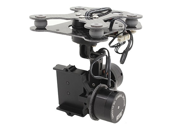DYS Smart3 3 Axis GoPro Gimbal avec Control Board AlexMos (BaseCam)