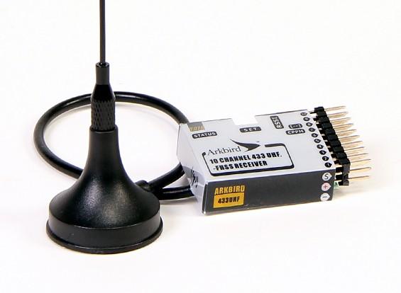 Récepteur Arkbird 433MHz 10 canaux UHF FHSS avec Failsafe