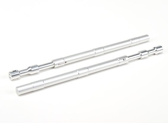 Alliage droite Oleo Struts 230mm ~ 12.7mm (2pc)