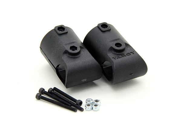 Tarot T810 et T960 25mm à 16mm Kit Landing Gear T Adaptor (2pcs)