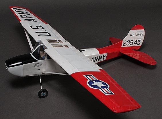 L-19 Bird Dog Haute Wing Balsa 1250mm (ARF)