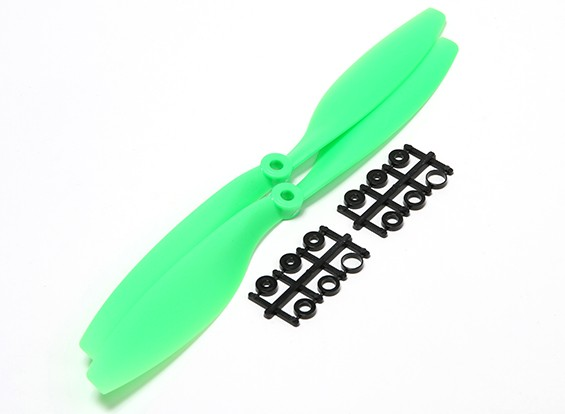 Turnigy slowfly Hélice 10x4.5 Green (CCW) (2pcs)