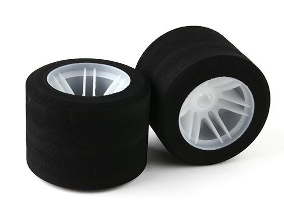 """Xceed """"Enneti"""" 1/8 OS2 Rear Light Foam Tire Set (sh 37)"""