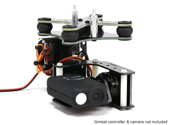 Turnigy ™ Mobius 2 Axis Gimbal avec AX2206 Motors W / O Controller