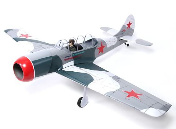 Yak 52 Russie Entraîneur Balsa GP / EP 1540mm (ARF)