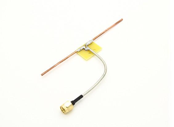 1.3GHz Dipole Coaxial Flux Direct Connect Quarter Antenne vague (SMA)