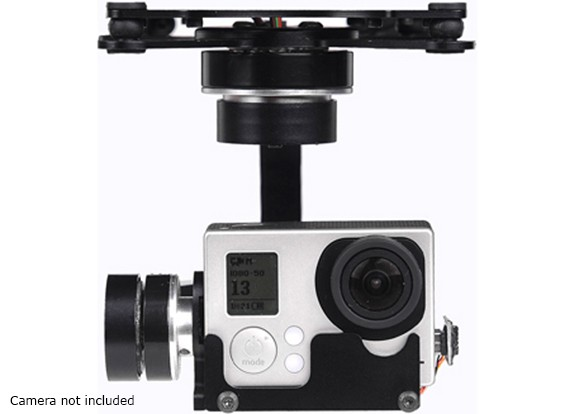 X-CAM A10-3H 3 Axis 360Deg Rotation GoPro Gimbal Avec A / V Link