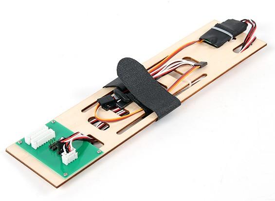 HobbyKing Cobra 90mm EDF - Remplacement de la batterie Plateau et PCB