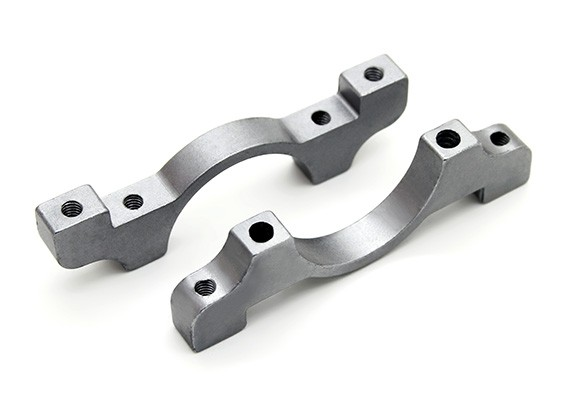 Titanium Couleur anodisé CNC en aluminium Tube Clamp 22mm Diamètre