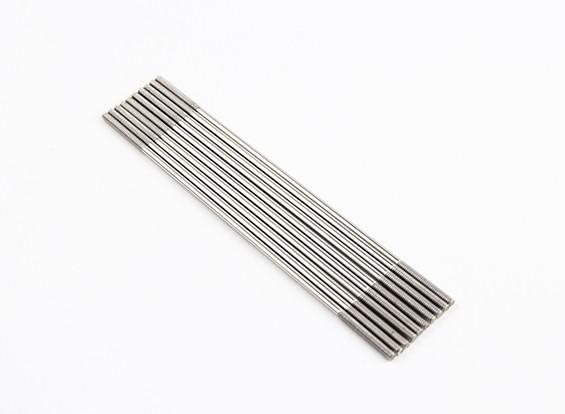 M2x90mm en acier inoxydable Rods Push (LH & RH Threaded) (10pcs)