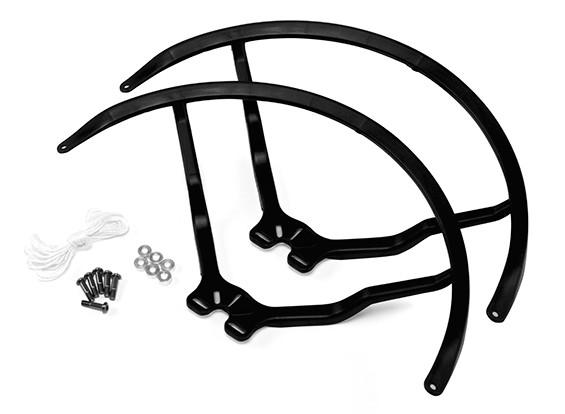 9 Inch Plastic Universal Multi-Rotor Hélice Guard - Black (2set)