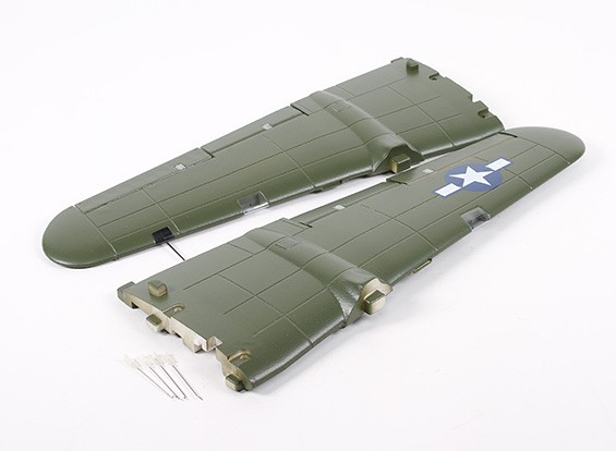 HobbyKing B-25 1250mm - Remplacement Aile principale
