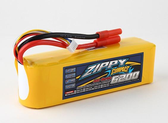 ZIPPY Compact 6200mAh 4s 40c Lipo Paquet
